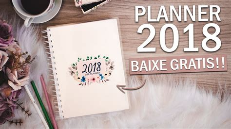 Diy Planner 2018  Download Gratuito  Dayane Nascimento