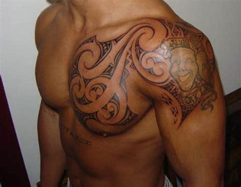 57 Fantastic Maori Shoulder Tattoos