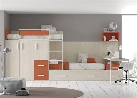 lit superpose en quinconce lit superpos 233 avec rangements pour enfant fille touch