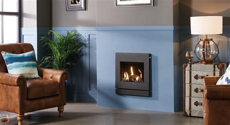 Designio2 Steel Inset Gas Fires from Gazco Fires