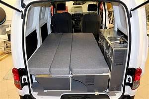 Nissan Nv200 Aménagé : fabriquer lit escamotable camping car scoooter gt ~ Nature-et-papiers.com Idées de Décoration