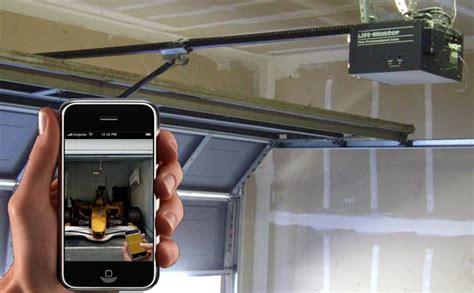 iphone garage door opener turn your iphone into a garage door opener