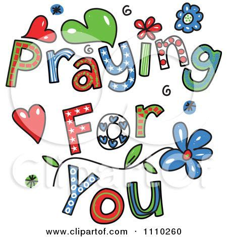 sending prayers clipart collection