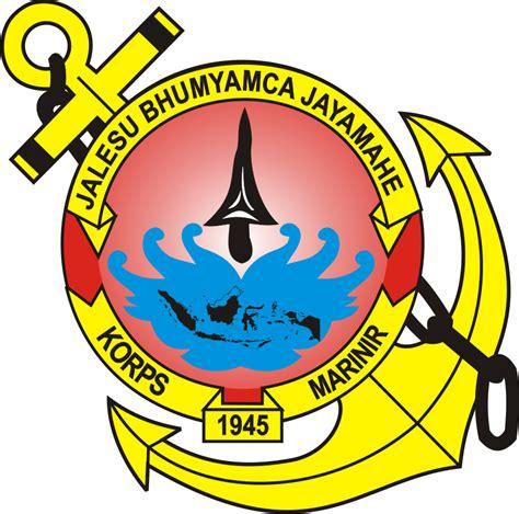 logo marinir kumpulan logo indonesia