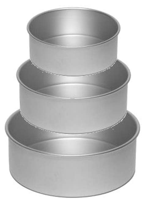 Wedding Cake Tins   Commercial Quality   Set of Three
