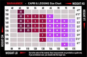 Women U0026 39 S Capri Sizing