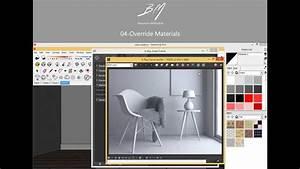 04 - Curso B U00e1sico Vray 3 4 Para Sketchup - Override Materials