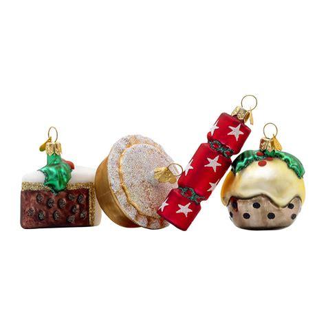 decoration de noel en anglais acheter bombki d 233 coration de sapin petit no 235 l anglais lot de 4 amara