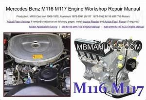 Mercedes Benz R107 500sl Service Repair Manuals