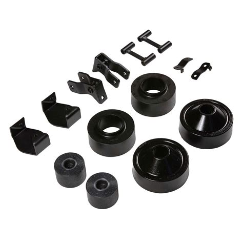 rubicon express re7132 wrangler jk economy spacer lift kit 2 quot without shocks jeep 2007 2018