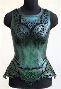 Women Leather Armor Corset