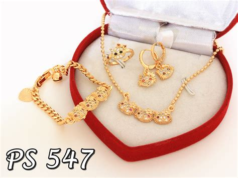 produk perhiasan set xuping terbaru pusat perhiasan set