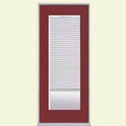 masonite patio doors with mini blinds masonite 32 in x 80 in mini blind painted steel prehung