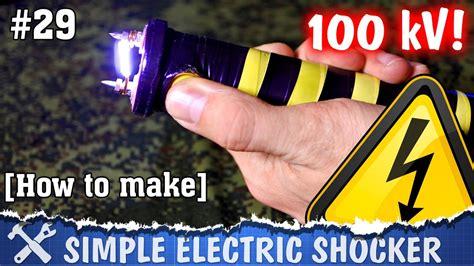 electric shocker diy high voltage teaser