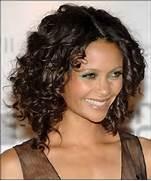 Medium Length Curly Ha...Medium Length Black Curly Haircuts