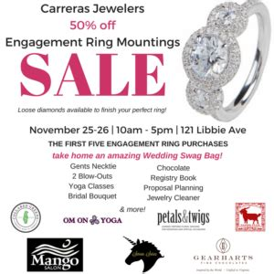 wedding rings on sale black friday black friday engagement ring sale carreras jewelers