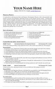 professional cv examples free download With cv template uk