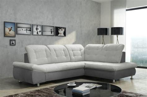 Schlafsofa Sofa Couch Ecksofa Eckcouch In Grau Mit