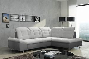 Ecksofa Mit Schlaffunktion Günstig Kaufen : schlafsofa sofa couch ecksofa eckcouch in grau mit ~ Pilothousefishingboats.com Haus und Dekorationen