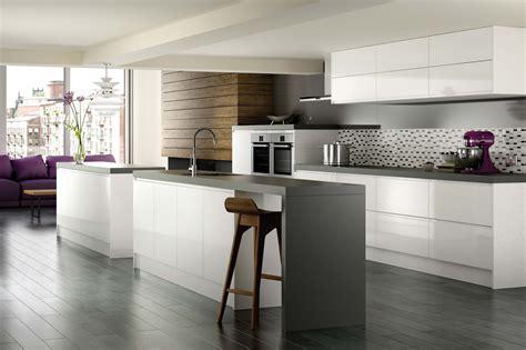 white gloss kitchen ideas kitchens rowhedge restorations
