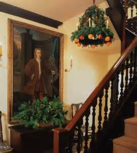 colonial christmas content in a cottage