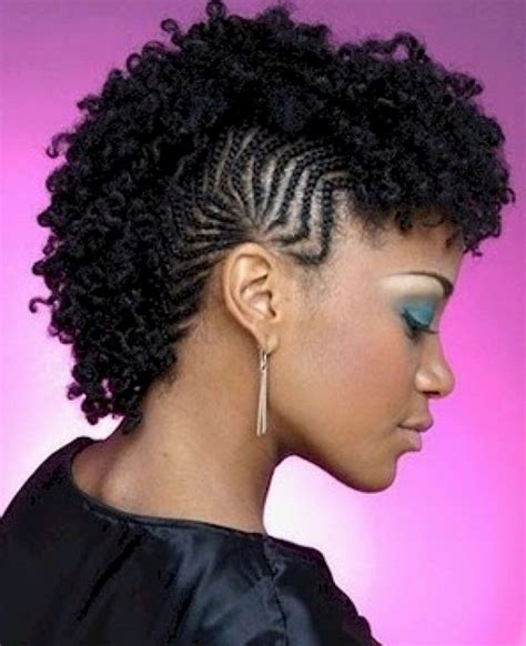 How To Do Hairstyles For Black Hair by Braided Mohawk Hairstyles For Black Ten
