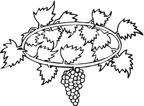 Free Printable Grape Leaves