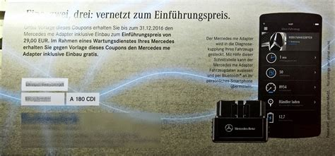 mercedes me adapter kostenlos mercedes me adapter