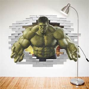 Online Cheap 3d Avengers Photo Wallpaper Custom Hulk ...