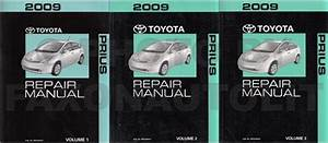 2009 Toyota Prius Wiring Diagram Manual Original