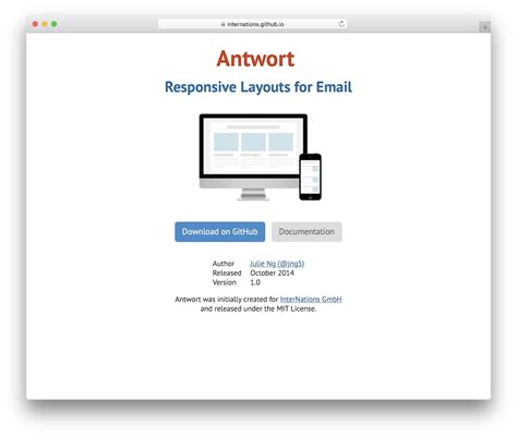 Html Email Template 25 Best Free Responsive Html Email Templates 2018