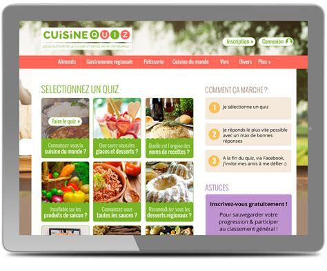 Webdesigner Pour Le Site Cuisine Quiz