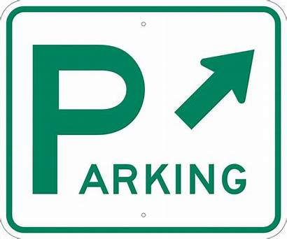 Parking Sign Signs Clipart Clip Lot Printable