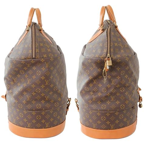 louis vuitton large steamer bag monogram travel tote keepall neiman marcus   sale  stdibs
