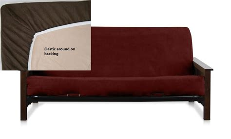 Loveseat Futon Cover by New Futon Cover Only Size Sofa Covers Wine