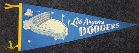 1960's Los Angeles Dodgers Full Size Pennant | Dodgers ...