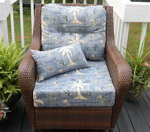 indoor outdoor seating chair cushion by