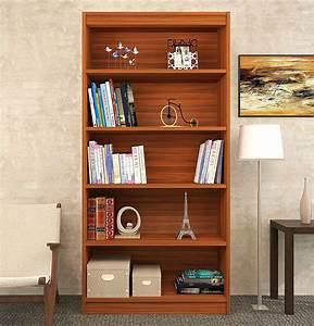 Trend, Bookshelf, Engineered, Wood, Showcase, Open, Book, Shelf, Finish, Color, -, Wenge