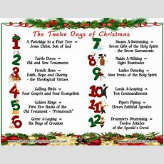 "The True Meaning And Catholic Origin Of The Song ""the Twelve Days Of Christmas""  The Best Catholic"