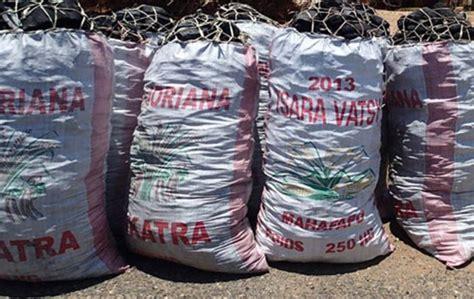 madagascar hausse du prix du sac de charbon de bois