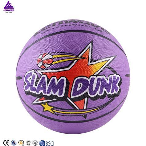 colorful basketball lenwave brand basketball size 7 cheap custom logo
