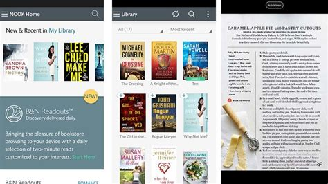 nook app for android 15 best ebook reader apps for android android authority