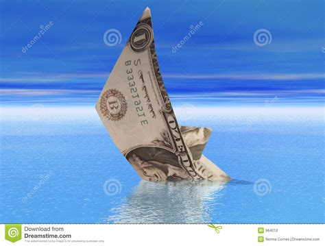 Sinking Boat Icon by Dollar Boat Sinking Stock Photo Image Of Dollar Loss