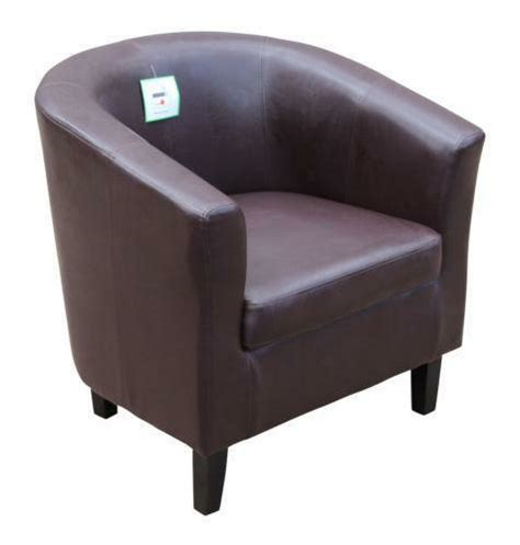 Tub Chair Company by Leather Tub Chairs Ebay