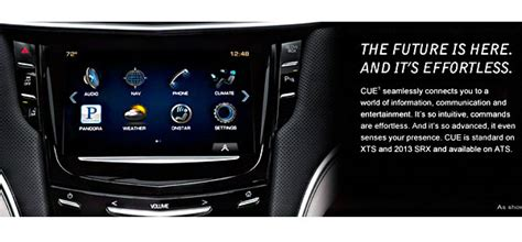 cadillac cue software update cadillac admits to problems with cue infotainment