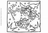 Witch Pumpkin sketch template