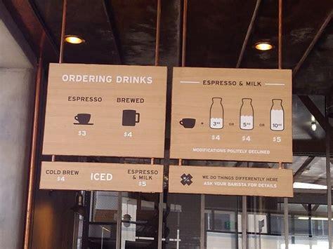 Local coffee shop chalkboard menu. Handsome Coffee Roasters iconographic menu boards | Coffee shop menu, Menu board design, Menu boards