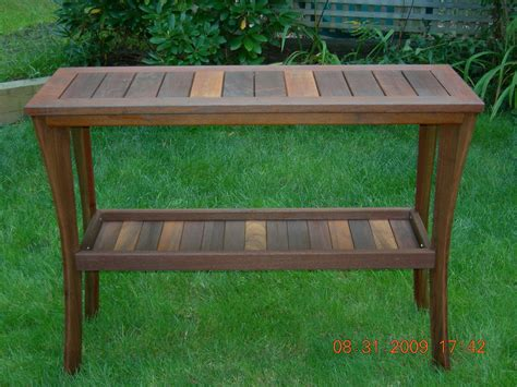 crafted outdoor serving table by papa s workshop