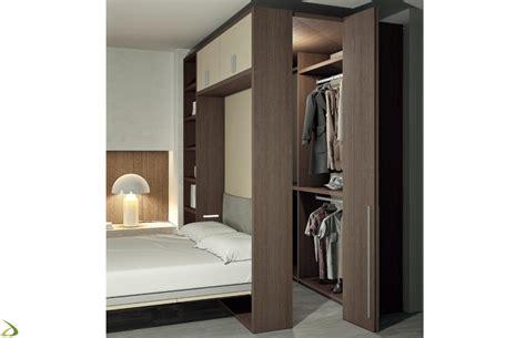 armadio a letto letto con cabina armadio berol arredo design