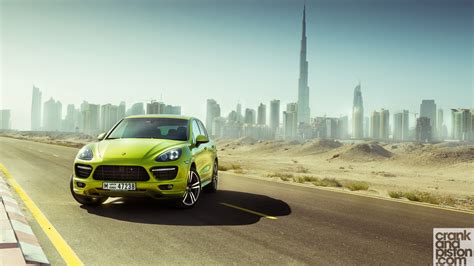 Porsche Cayenne Gts Dubai Wallpaper